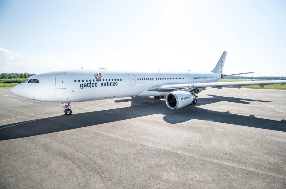 """""""GetJet Airlines"""" lėktuvas"""