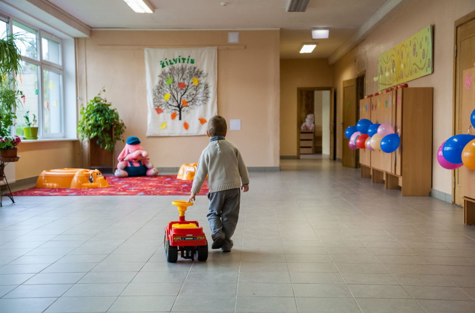 Viršuliškių mokykloje įsteigtas grupes lankys 47 4-5 metų vaikai