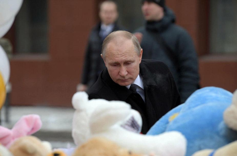 Vladimiras Putinas Kemerove