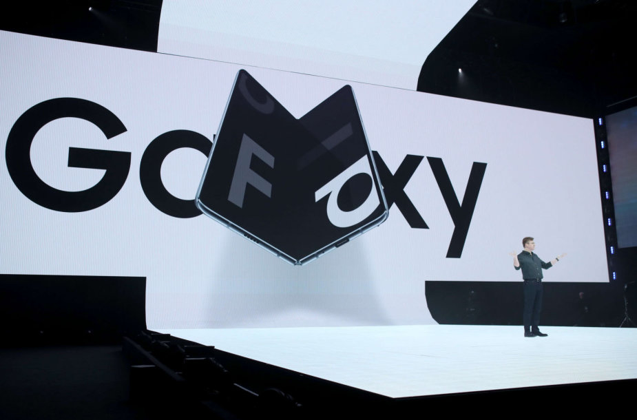 """""""Samsung Galaxy Fold"""" pristatymo renginys"""