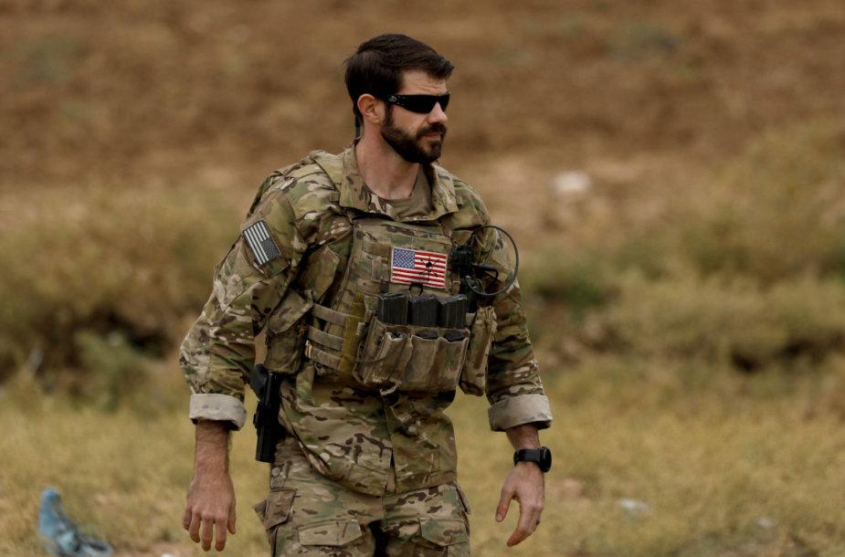Amerikietis karys Sirijoje