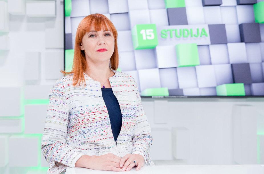 15min studijoje – Jurgita Petrauskienė