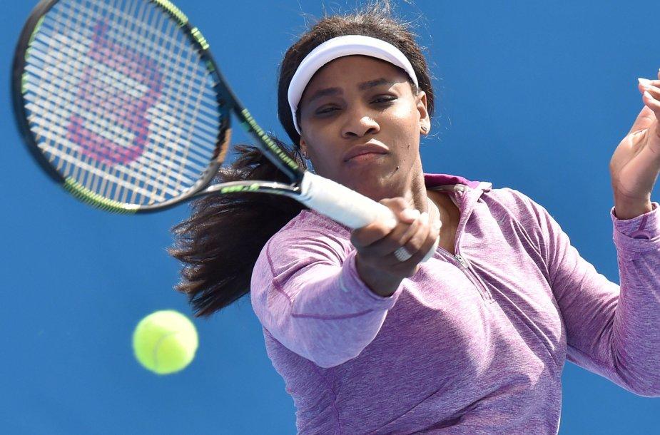 "Serena Williams sieks šeštojo ""Australian Open"" čempionės titulo"