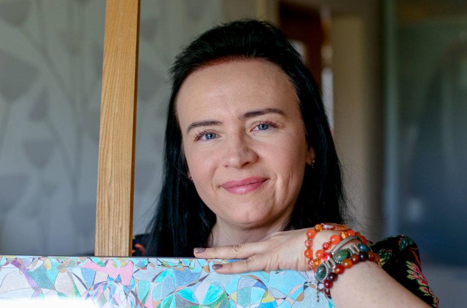 Brigita Paulauskienė ir jos piešiniai