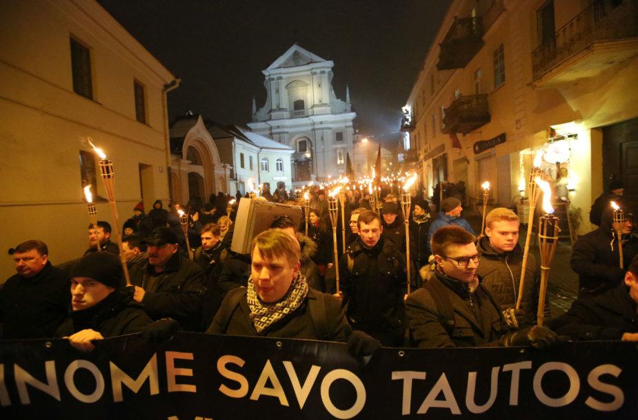 Tautininkų eitynės Vilniuje