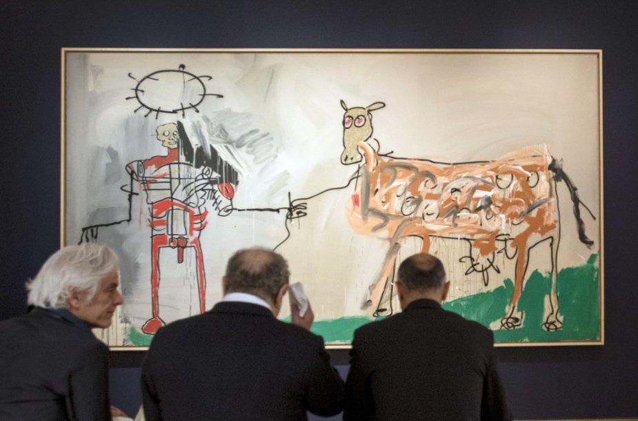 """Jeano-Michelio Basquiato paveikslas  """"Laukas prie kito kelio"""""""