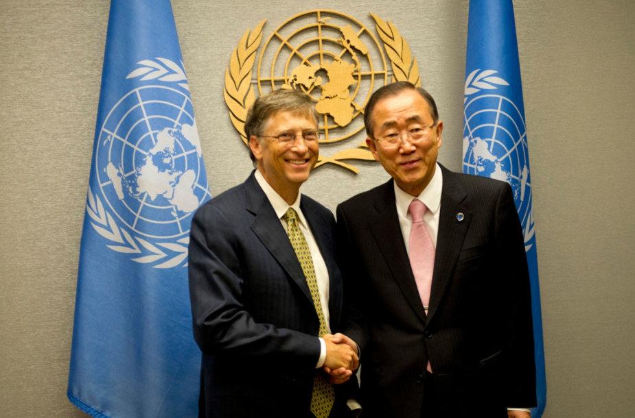 Billas Gatesas, Ban Ki-Moonas