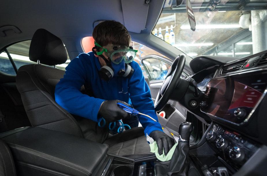 Automobilių dezinfekavimas