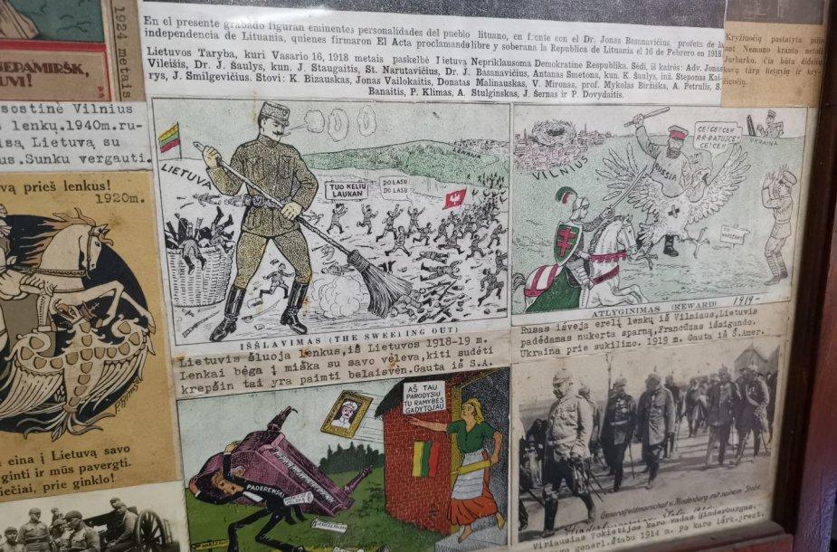 Tarpukario Lietuvos karikatūros Susivienijime Lietuvių Argentinoje (SLA)