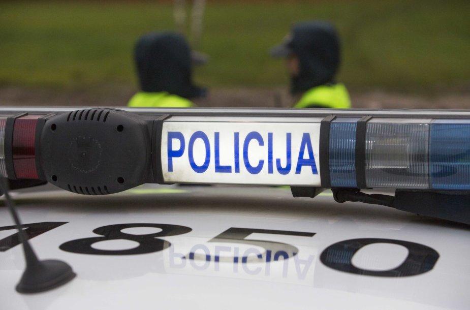 Paskutinį spalio savaitgalį policija Vilniuje surengė reidą šeštadienio rytą