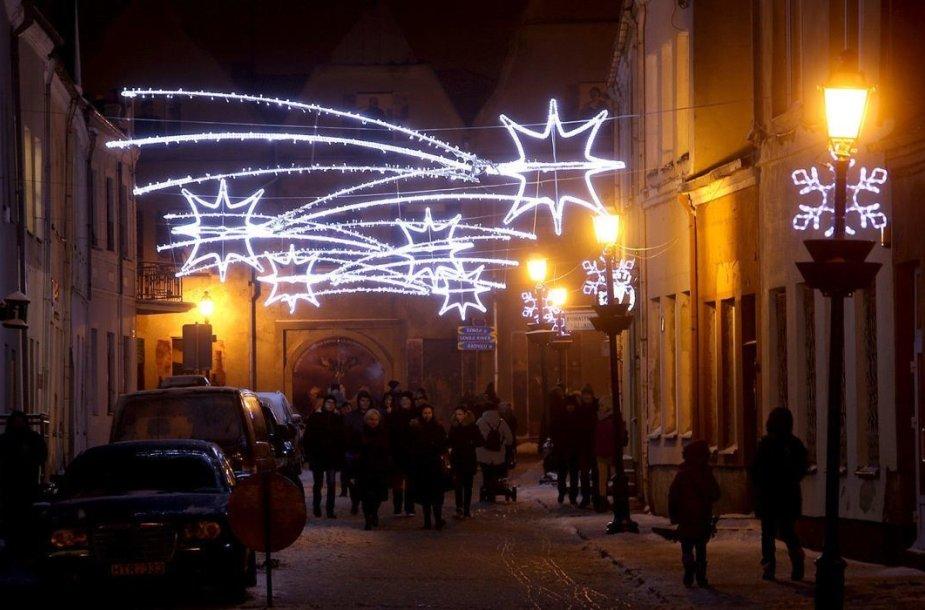 Kėdainiuose bus daugiau šviesos ir Kalėdinių akcentų.