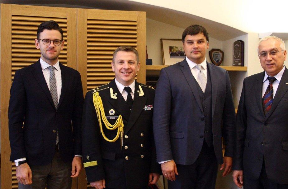 Krašto apsaugos ministerija suteikė paramą Ukrainos kariuomenei