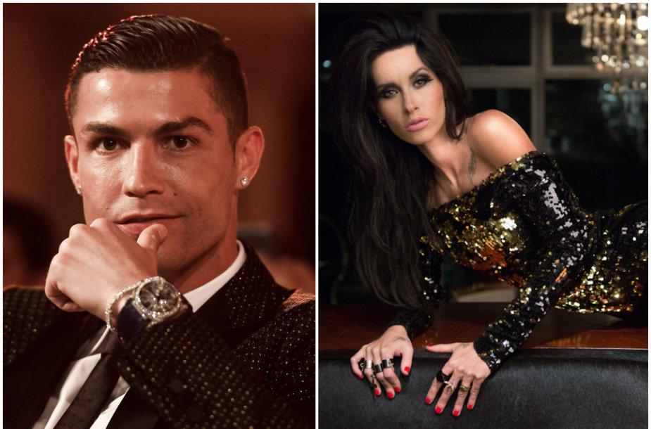 Cristiano Ronaldo ir Jasmine Lennard