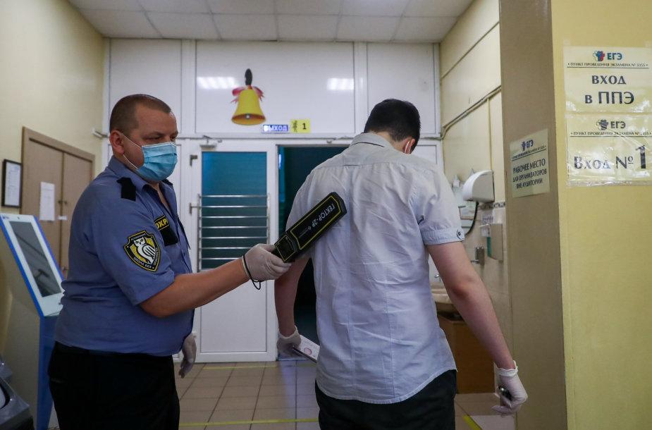 Kova su koronavirusu Rusijoje