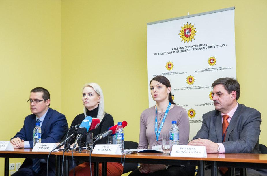 Skirmantas Malinauskas, Dorita Visalgienė, Rasa Kazėnienė, Robertas Krikštaponis
