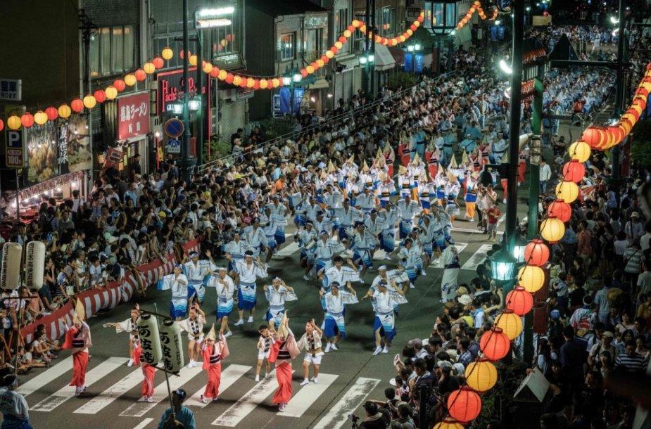 """Awa"" festivalis Japonijoje"
