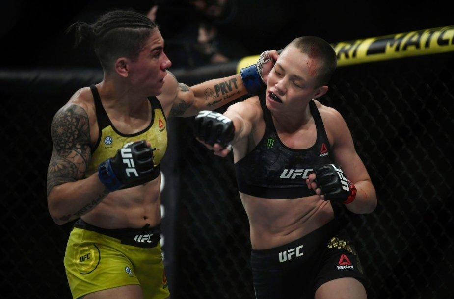Rose Namajunas prieš Jessicą Andrade