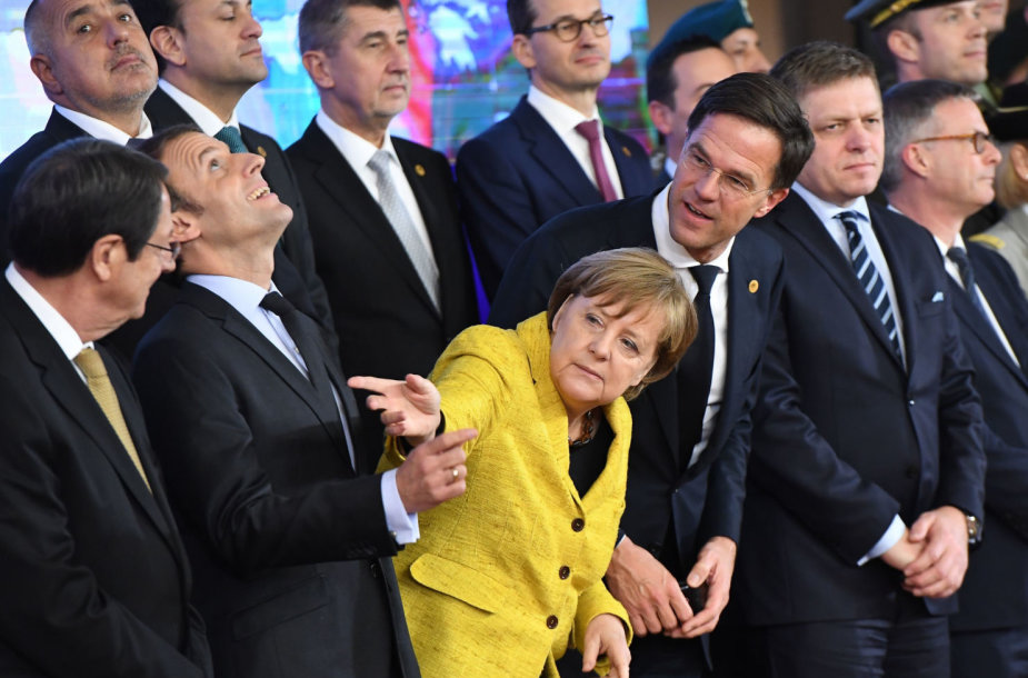 "Europos Sąjungos pernai ""paleista"" PESCO iniciatyva erzina JAV"