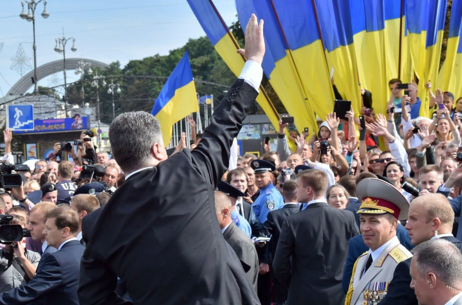 Karinis paradas Kijeve