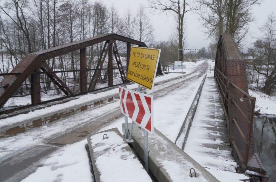 Kazbėjų tiltas per Vokės upę