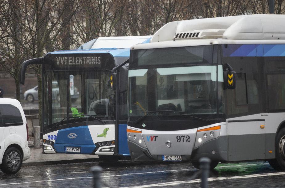 Naujas elektrinis autobusas