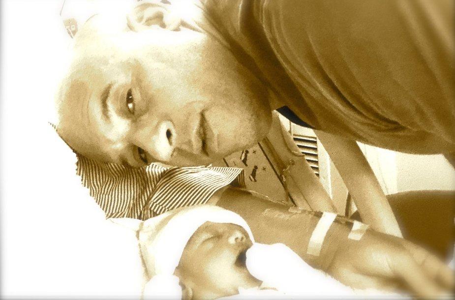Vinas Dieselis ir trečiasis jo vaikas