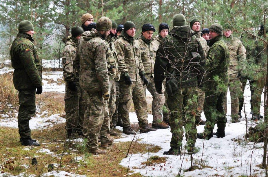 Į Lietuvą atvyko Danijos žvalgai.