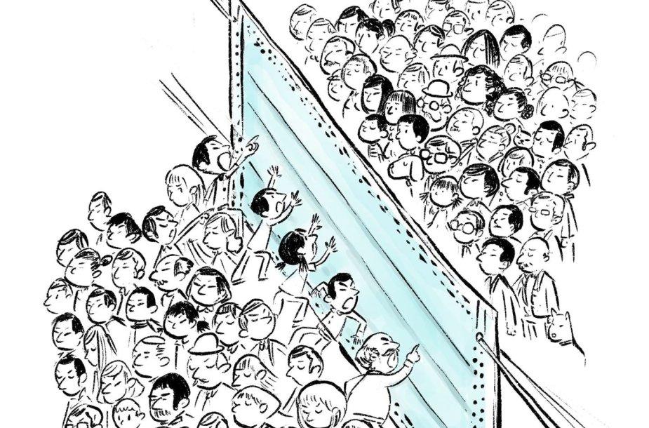 Josefo Lee iliustracija apie koronavirusą 2020-02-02