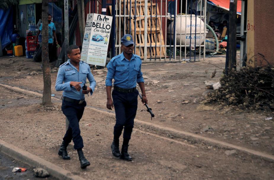 Etiopijos policija