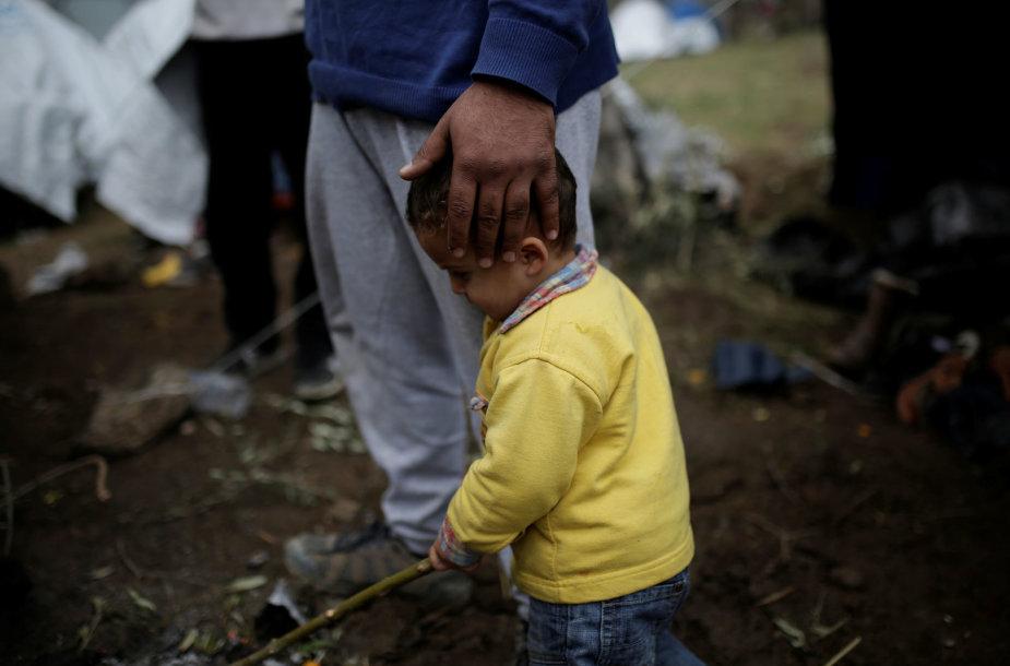 Graikijos salose žiemai įstrigę migrantai