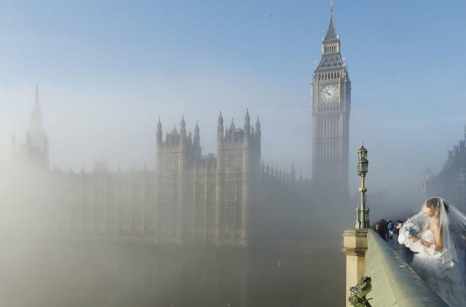 Rūkas Londone