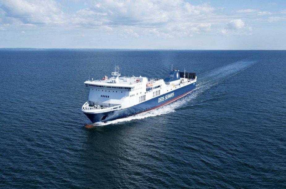 """Keltas / AB """"DFDS Seaways"""" nuotr."""