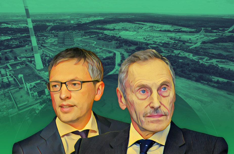 Arvydas Sekmokas ir Vytautas Bakas