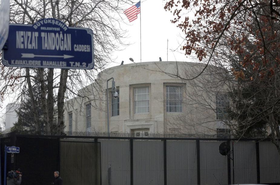 JAV ambasada Ankaroje