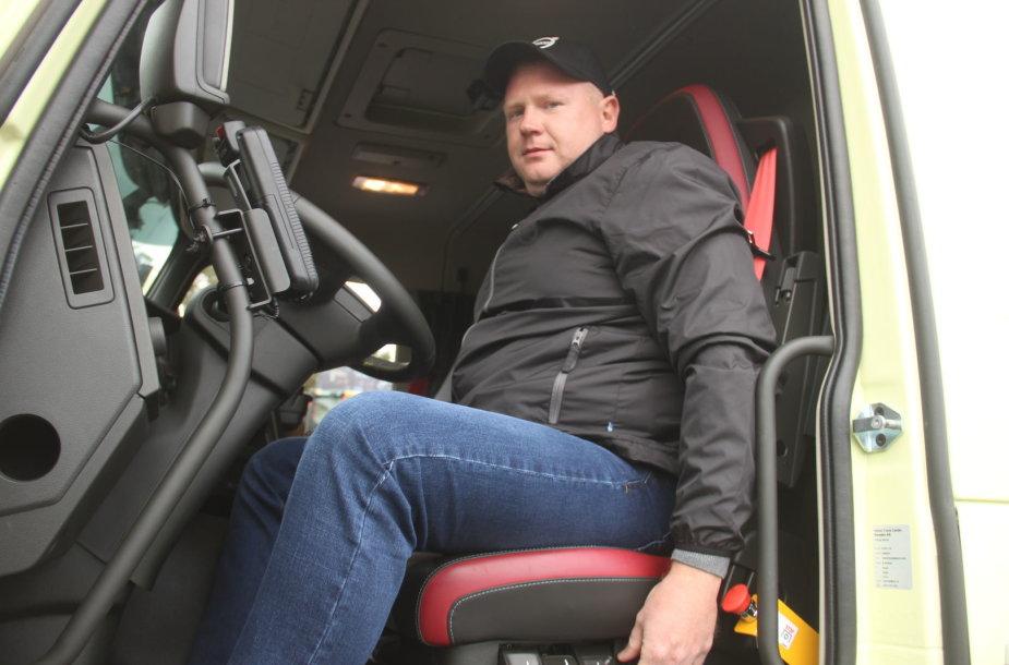 """Volvo Trucks Driver Challenge 2018"" varžybų įžanga"