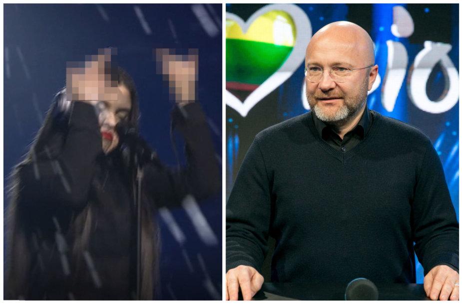 Miglė Vilčiauskaitė-Migloko ir Audrius Giržadas