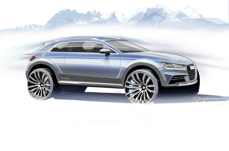 """""""Audi Sporty Crossover"""""""