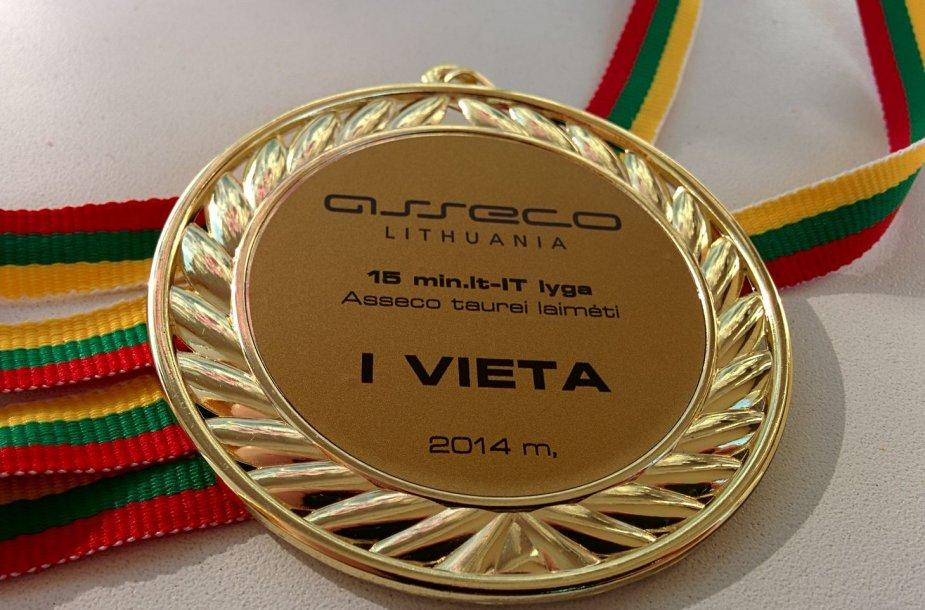Nugalėtojų medalis