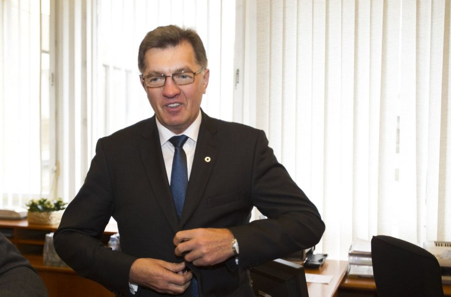 Premjeras Algirdas Butkevičius susitiko su Seimo pirmininke Loreta Graužiniene