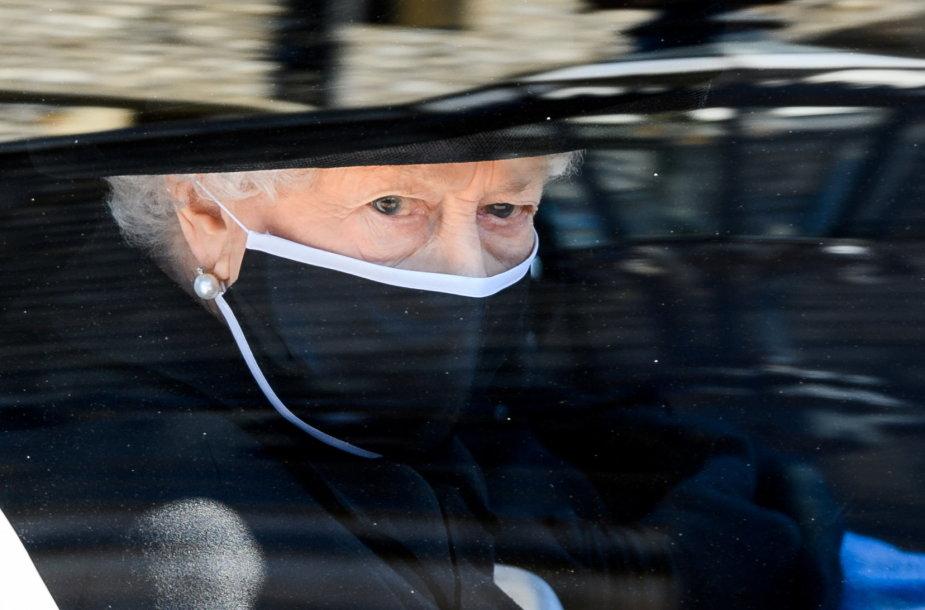 Elizabeth II princo Philipo laidotuvėse