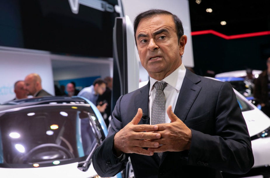Carlos'as Ghosn'as
