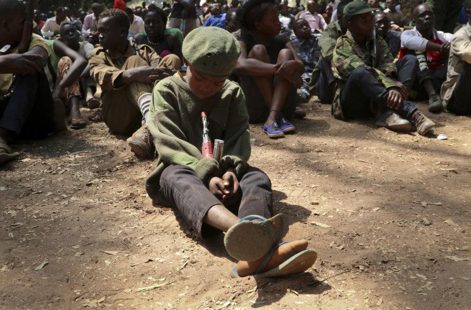 Vaikai kariai Pietų Sudane