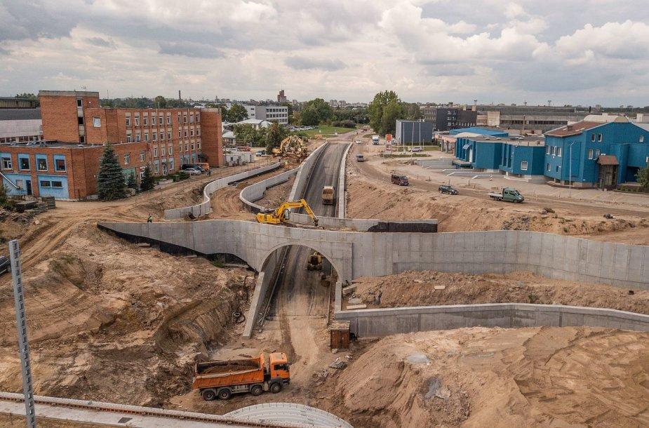 Požeminio tunelio statybos Palemone