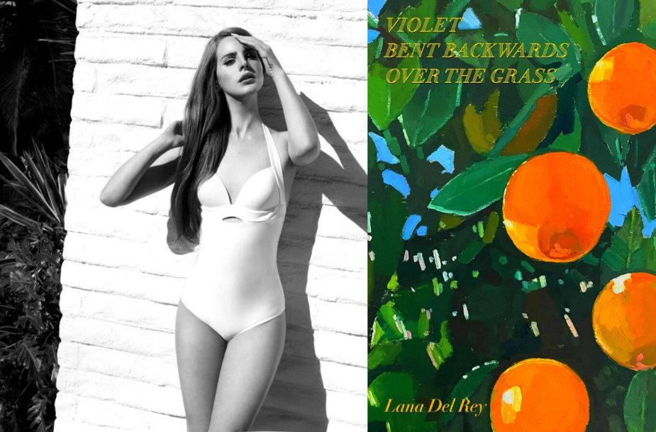 Lana Del Rey ir jos knygos viršelis