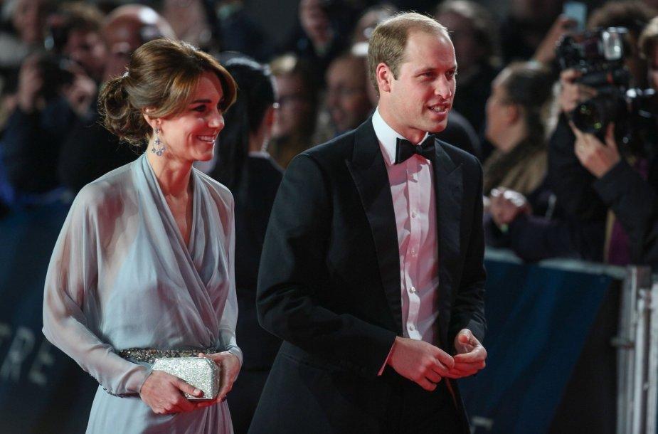 Kembridžo hercogiene Catherine ir princas Williamas