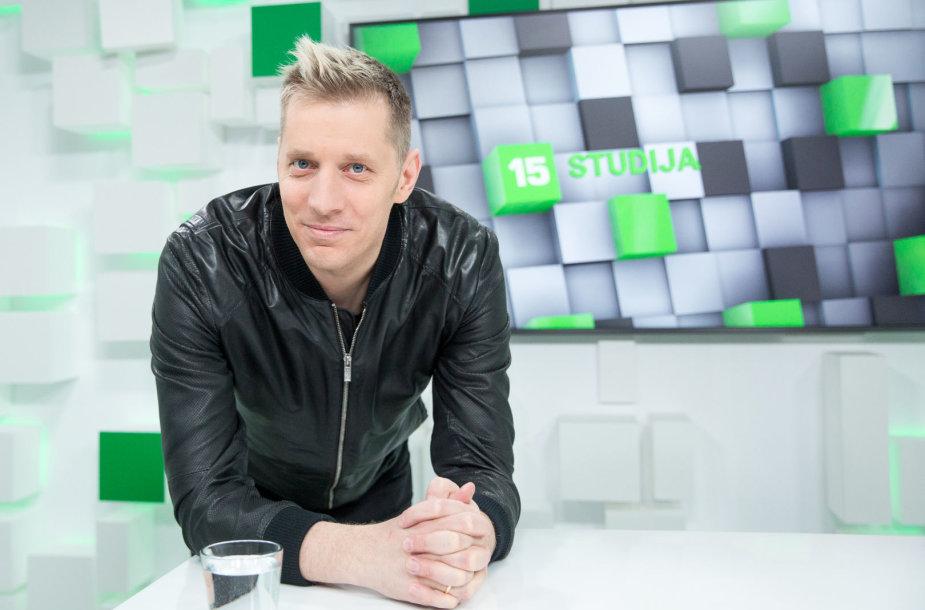 15min studijoje — dainininkas Saulius Prūsaitis