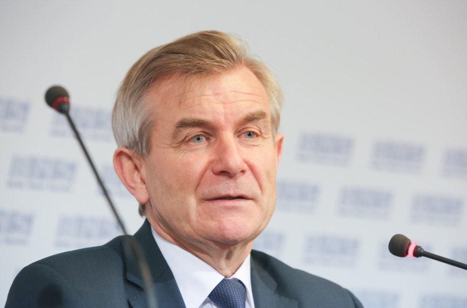 Seimo pirmininkas Viktoras Pranckietis