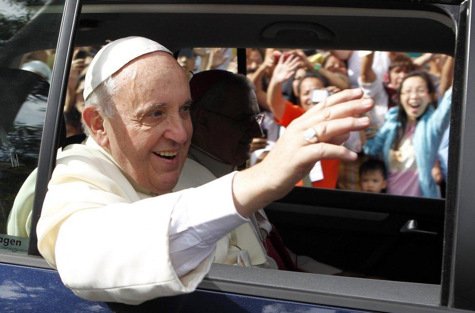 Popiežius Pranciškus Maniloje