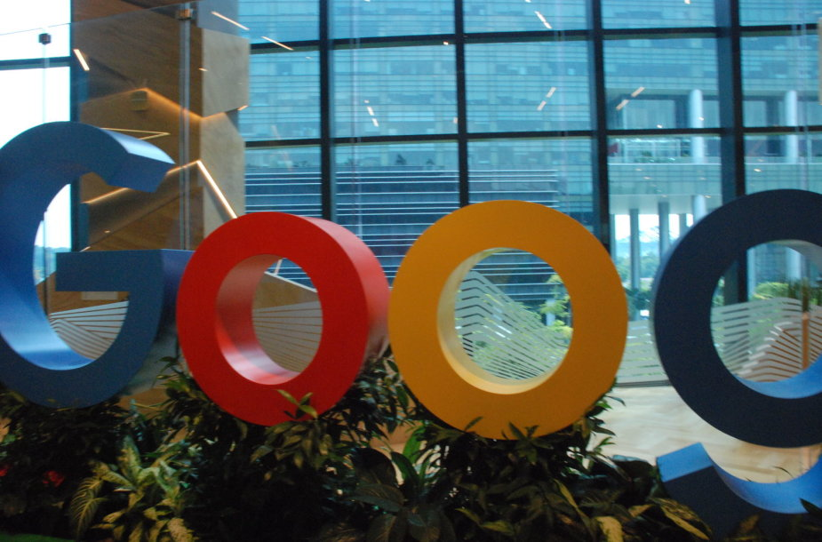 """Google"" biuras Singapūre"