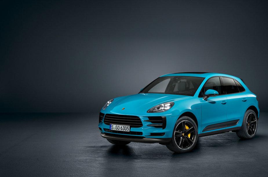 """Paryžiuje pristatytas naujasis """"Porsche Macan"""""""
